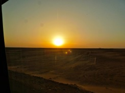 Sunrise over the Sahara
