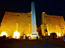 Luxor by night <3 so beautiful