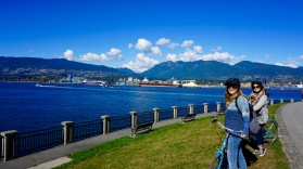 Cycling Stanley Park
