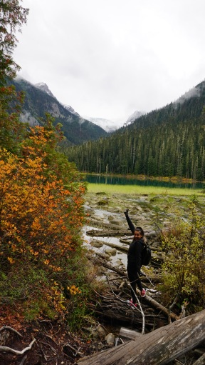 Joffre Lakes - Making our way to the top