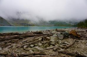 Joffre Lakes - Top lake